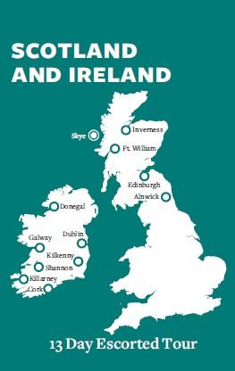 Bus Tours To Ireland From Scotland